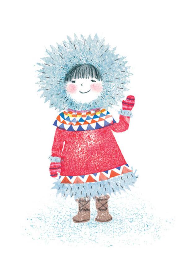 Dot-in-the-snow-illustration